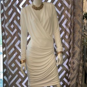 Nasty Gal Elegant white night dress